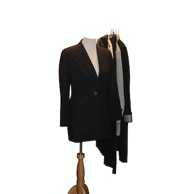 Escada and Brunello Cucinelli Blazers, Skirts, and Pants