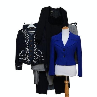 Escada, Giorgio Armani, and Mondi Skirt Suits, Dress Pants, and Dress