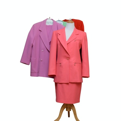 Escada Wool Skirt Suits
