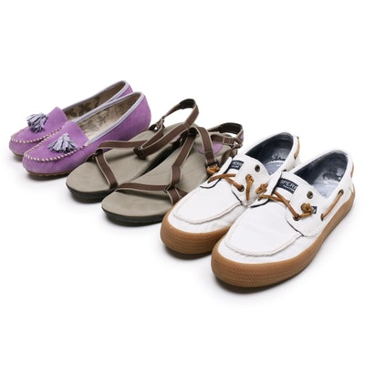 Lands' End, Sperry and Teva Loafers and Sandals