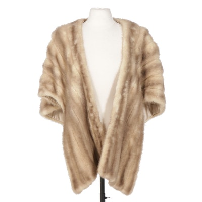 Mink Fur Stole from Bloom Furs, Mid-20th Century