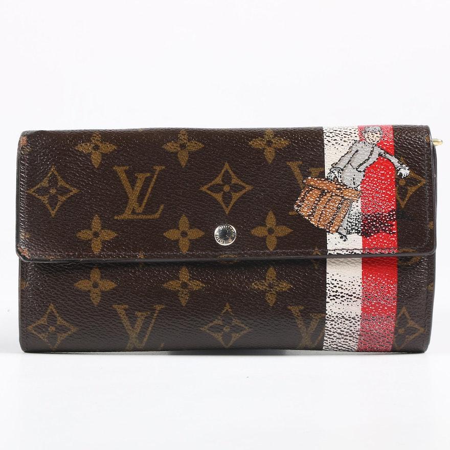 Louis Vuitton Le Groom Long Wallet in Monogram Canvas