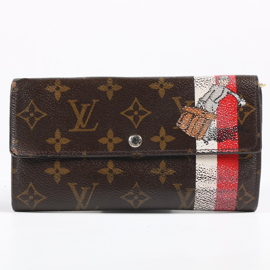 Louis Vuitton Le Groom Long Wallet in Monogram Canvas