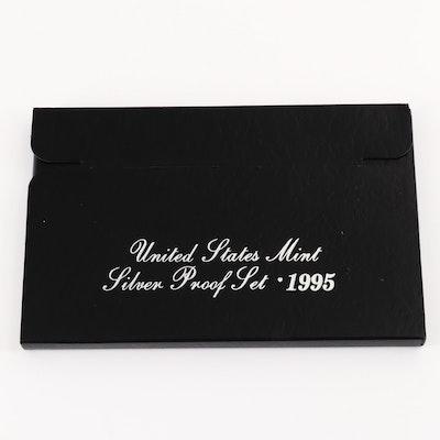 1995 U.S. Mint Silver Proof Set