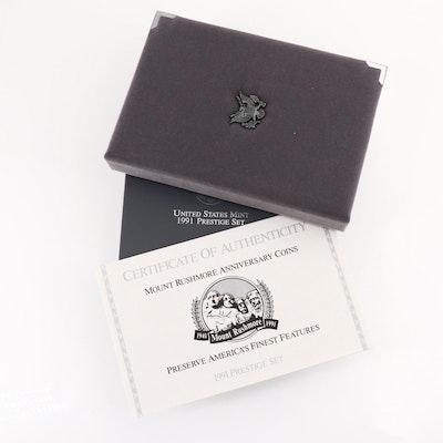 1991 U.S. Mint Prestige Set