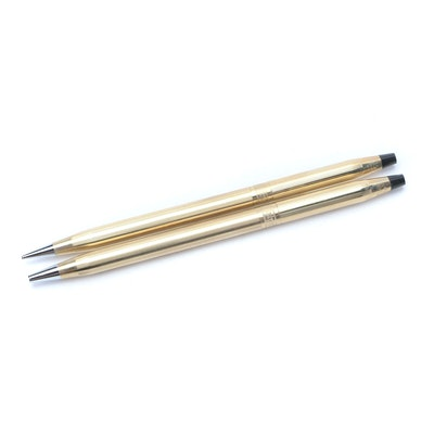 Cross 10k Gold Filled Pen and Pencil Set