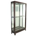 "Pulaski Furniture Corp., Mahogany-Finished ""Slider Curio"" Display Cabinet"