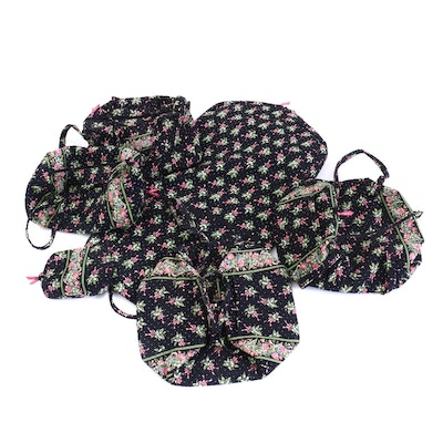 "Vera Bradley Quilted Cotton ""New Hope"" Duffel and Travel Bags"