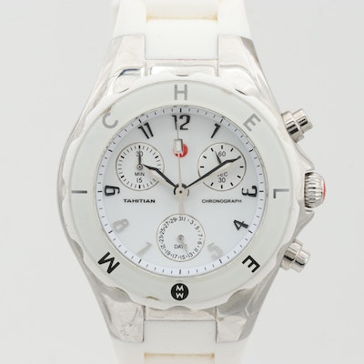Michele Tahitian Jelly Bean Chronograph Wristwatch