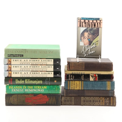 Vintage Ernest Hemingway Books