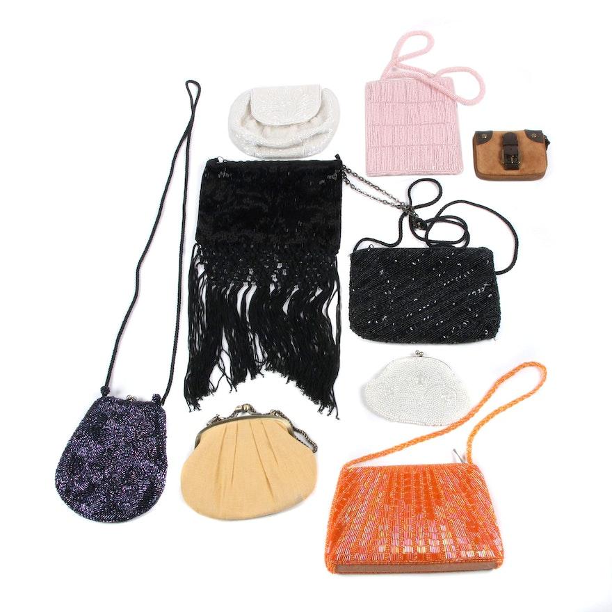 e549ece5c60c1 Beaded, Suede and Textile Handbags and Coin Purses Including J. Crew | EBTH