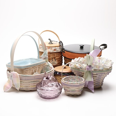 Longaberger Easter and Halloween Baskets