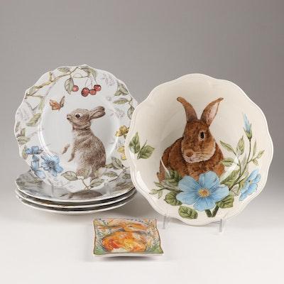 Rabbit Themed Tableware