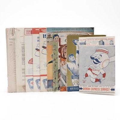 Major League Baseball Publications Including the Cincinnati Reds