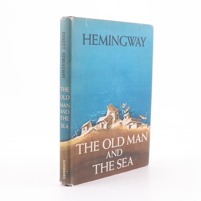 """1952 """"The Old Man and the Sea"""" by Ernest Hemingway"""