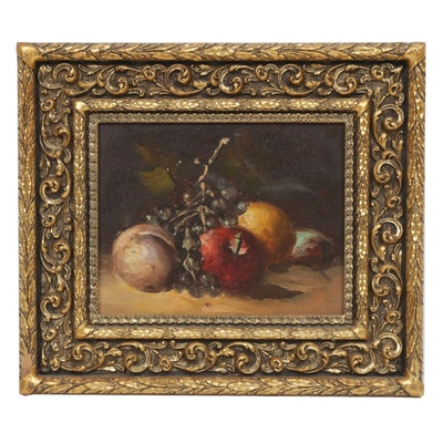 Still Life of Fruit Oil Painting
