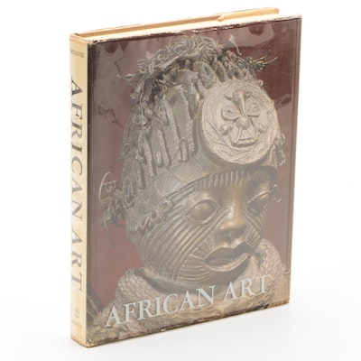 """1968 First Edition """"African Art"""" by Pierre Meauzé"""