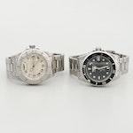 Invicta Pro Diver Wristwatches With One Diamond Bezel