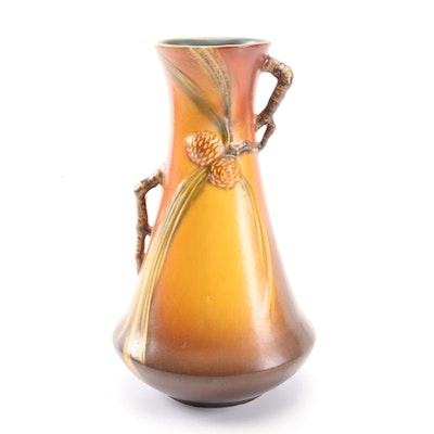 """Roseville """"Pine Cone"""" Vase, Circa 1930s"""
