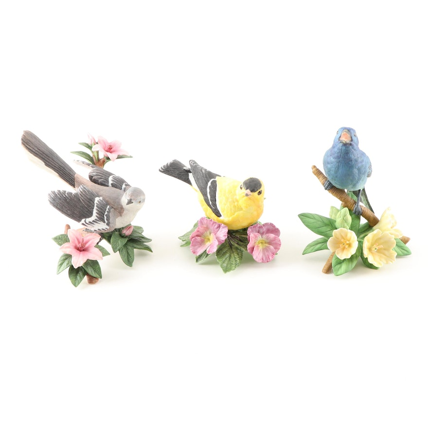 Lenox Porcelain Bird Figurines