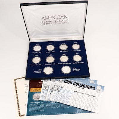American Silver Dollars of the 20th Century Ten-Coin Collection