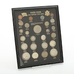 20th Century American Coinage Display