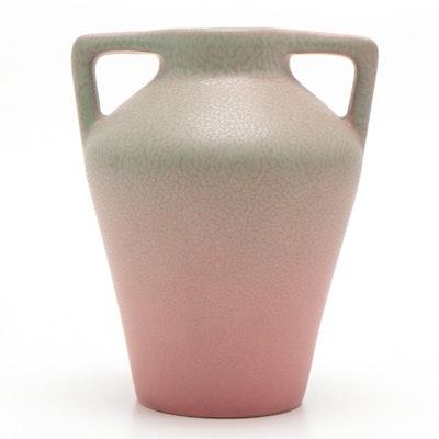 Rookwood Pottery Art Deco Matte Pink Bud Vase, 1923