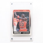 1988 Fleer #17 Michael Jordan Chicago Bulls Basketball Trading Card