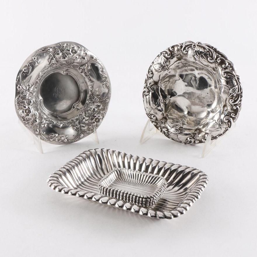Sterling Silver Bon Bon Dishes