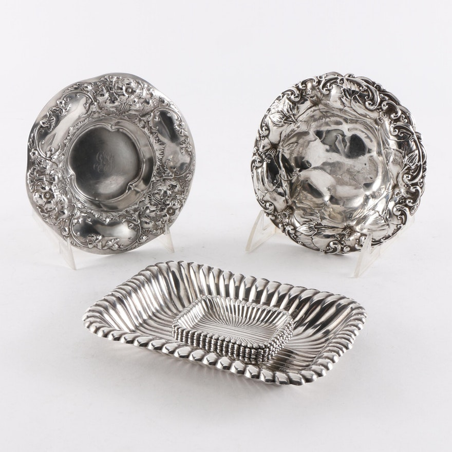 Sterling Silver Bon Bon Dishes