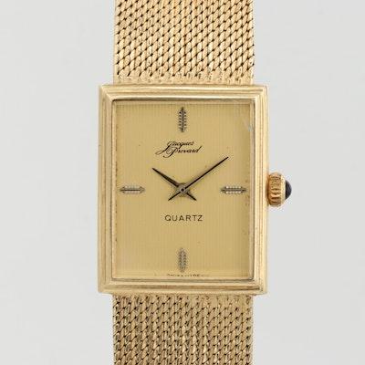 Jacques Prevard 14K Yellow Gold Wristwatch