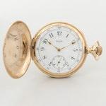 Antique Elgin 14K Yellow Gold Pocket Watch