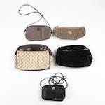Fendi, Givenchy, Chanel and Yves St. Laurent Cosmetic and Perfume Accessory Bags