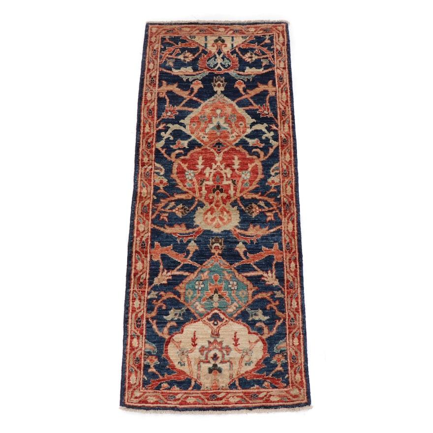 2' x 5.1'  Hand-Knotted Pakistani Persian Tabriz Long Rug