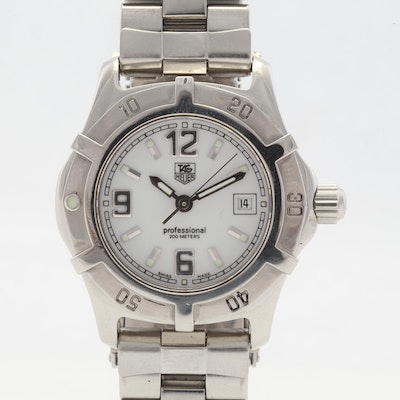 TAG Heuer Professional 200 Meters Stainless Steel 30MM Wristwatch