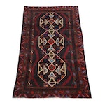 3.7' x 6.4'  Hand-Knotted Persian Baluch Rug