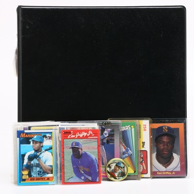 Pete Rose, Johnny Bench and Ken Griffey Jr. Collectible Cards and Memorabilia
