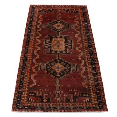 4.6' x 8.3' Hand-Knotted Northwest Persian Rug, Circa 1950s