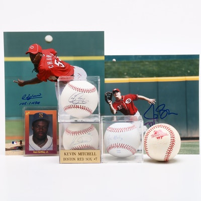 Cincinnati Reds Baseballs and Photo Prints
