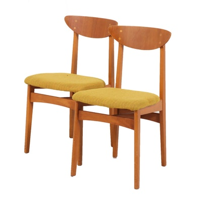 Swedish Modern Side Chairs by Swedansk for A.B. Almgren & Saaf, Mid-Century