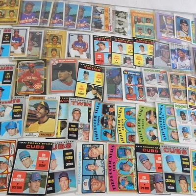 Baseball Rookie Card Collection with Winfield, Dawson and More, 1970s to 1980s