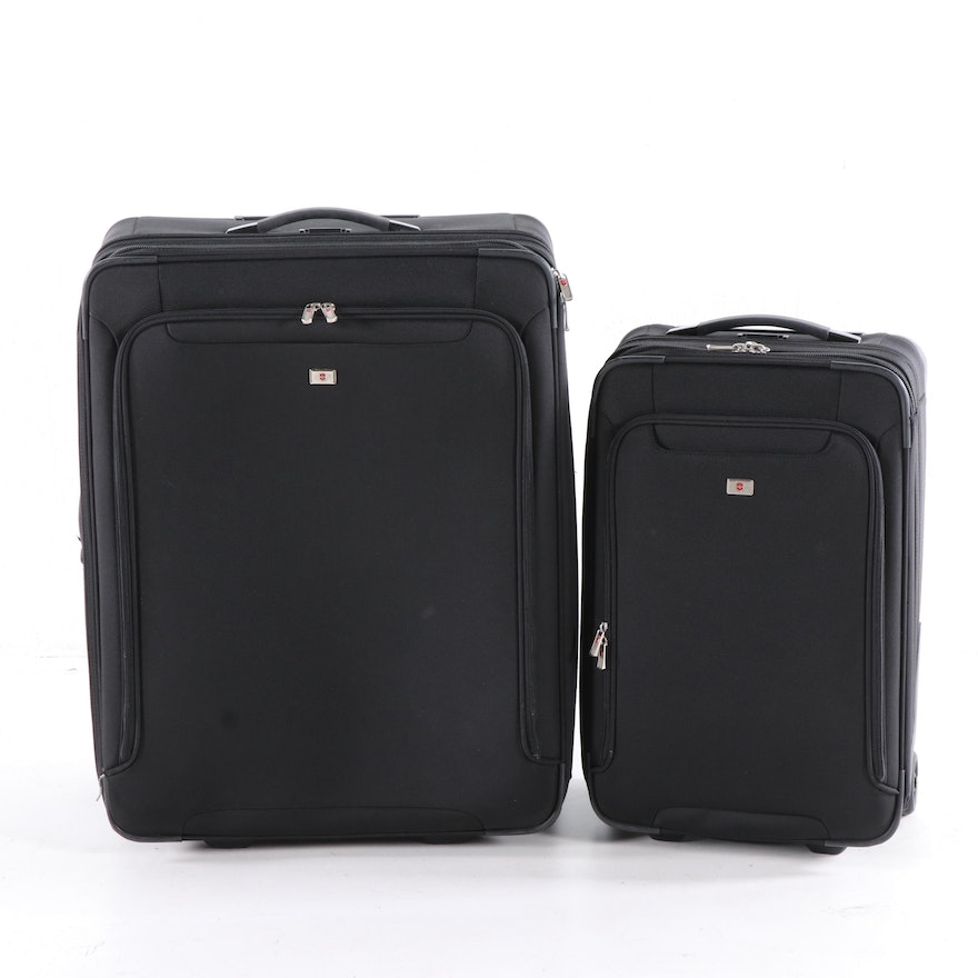 Victorinox Black Rolling Suitcases