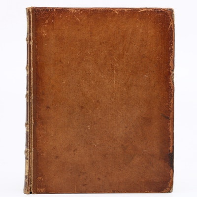 "1762 ""Works of Nicholas Machiavelli"" Vol. II with Cornwallis Ex Libris"