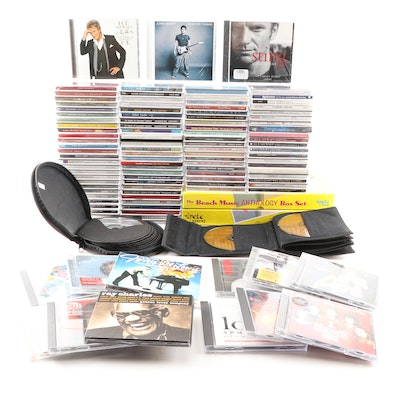 CD Grouping Featuring Rock, Pop, Classical, and More