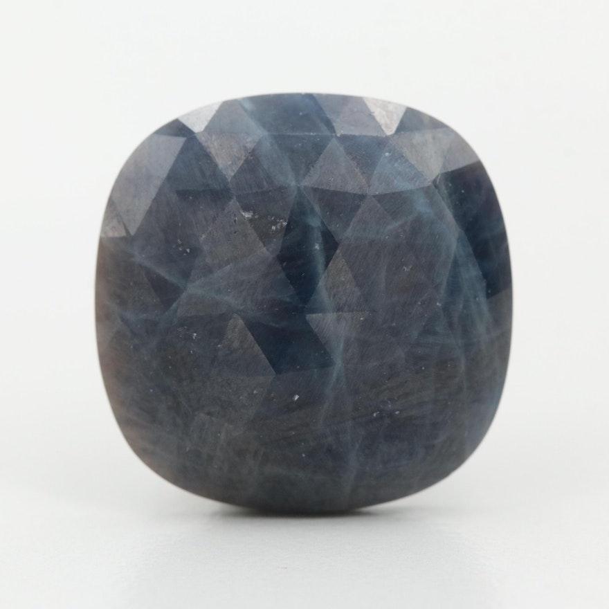 Loose 17.35 CT Blue Sapphire Gemstone