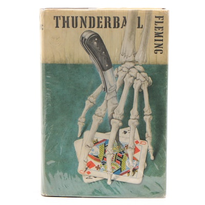 """Thunderball"" First Edition Hardcover with Original Dust Jacket"