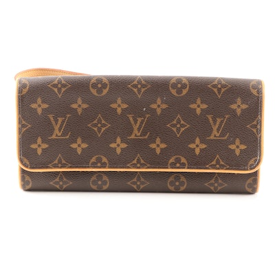 Louis Vuitton Monogram Canvas Twin Pochette Crossbody