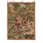 Handcrafted Wool Landscape Tapestry
