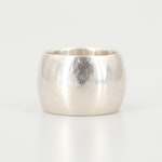 Sterling Silver Extra Wide Band Ring