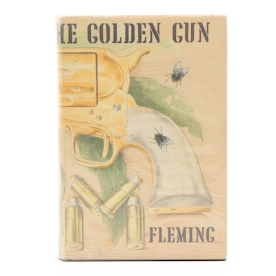 """The Man with the Golden Gun"" First Edition Hardcover with Dust Jacket"